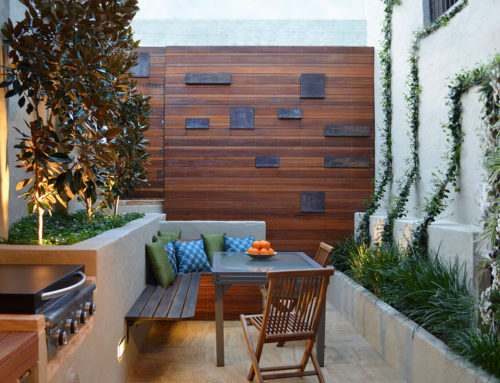 Small Gardens Transformed into 'Stylish Living Spaces'