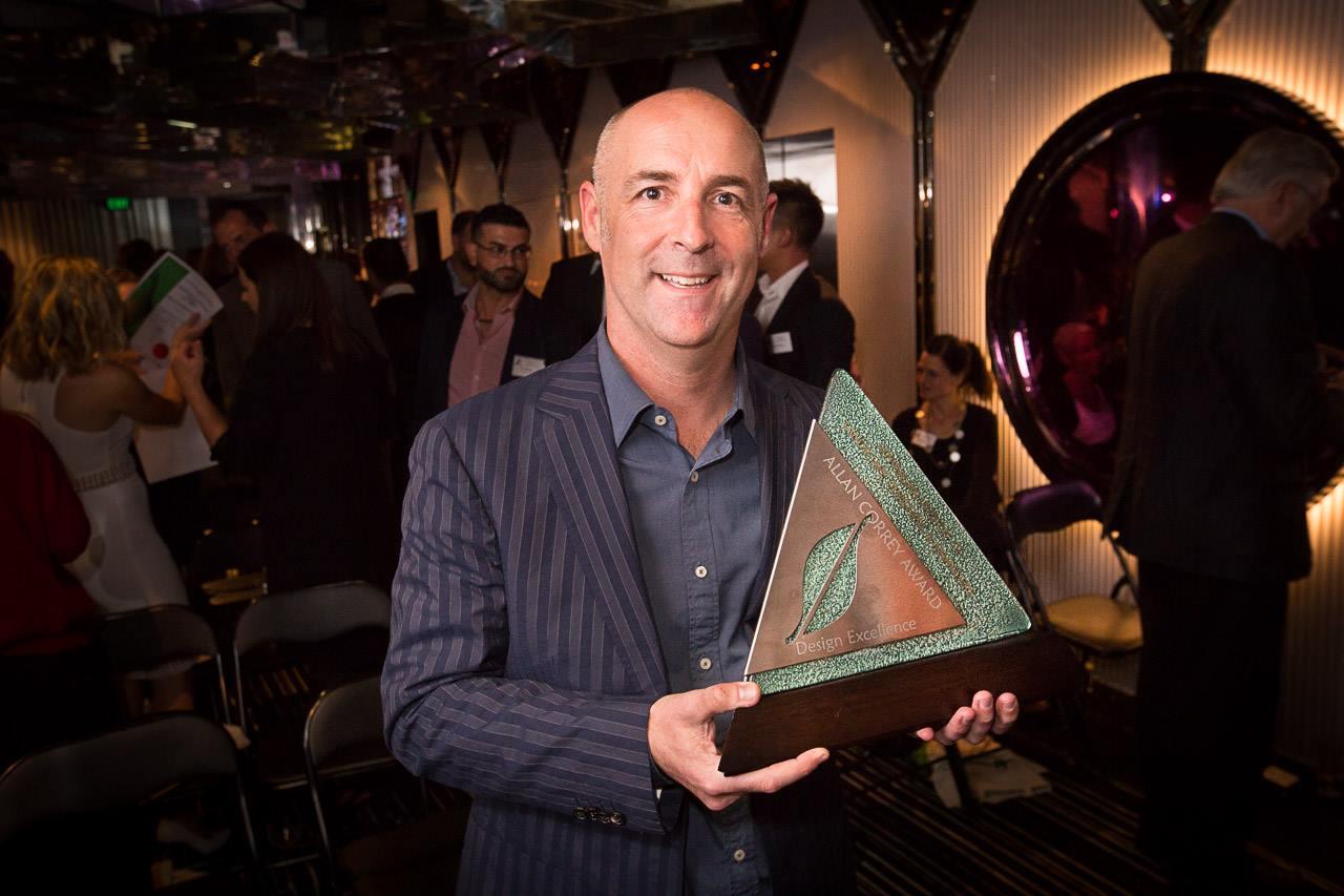 2016 AILDM Award winner Steve Warner