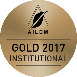 AILDM Gold Award Institutional