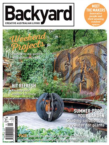 Backyard magazine cover