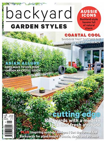 Cover of Backyard Garden Styles