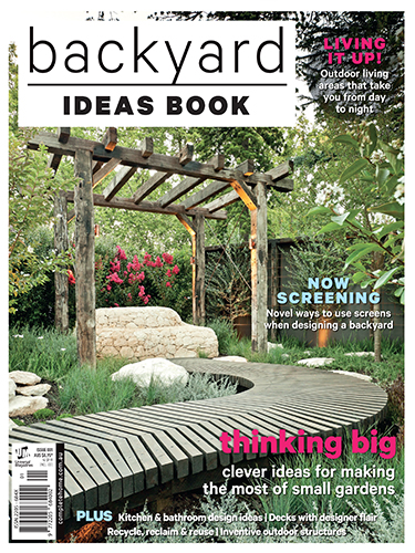Backyard Ideas Book cover