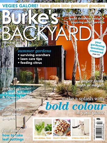 Burke's Backyard cover