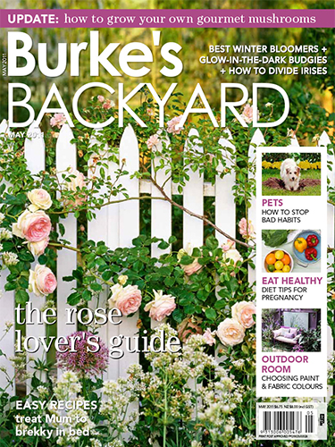 Burke's Backyard magazine cover