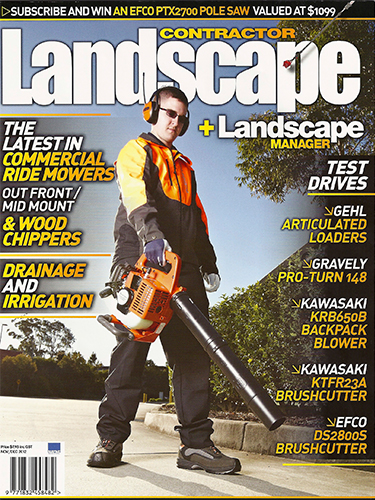 Landscape Contractor Magazine cover