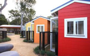RSPCA Head Office landscape design pocket pets housing