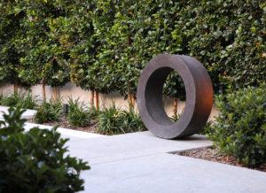 Garden sculpture landcape design
