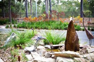 Therapeutic landscape design gardens