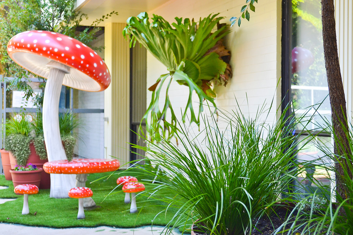 Fairy Garden Balcony and Sydney Children's Hospital