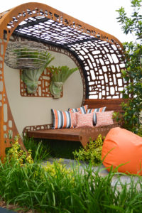 Urban nest landscape design