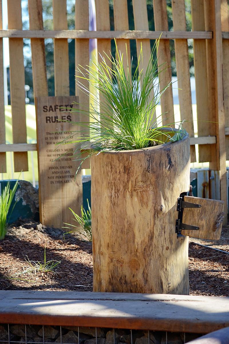 Community garden playground