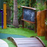 Play space design blackboard