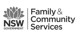 Family and Community Services NSW Logo