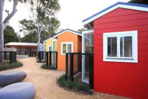 Lanscape architecture pocket pet houses