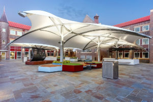 Knox College terrace landscape architecture design
