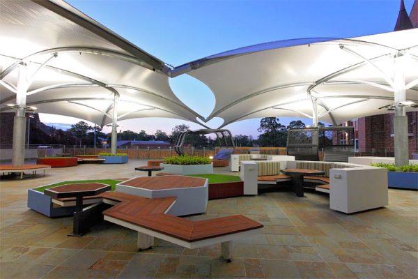 School landscape commercial design