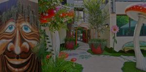 Fairy Garden terrace landscape design