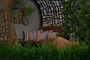 Image of outdoor cushions in the urban nest