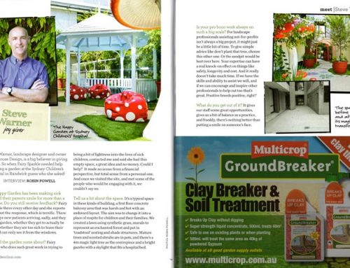 Featured in Garden Clinic Magazine