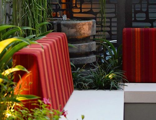 Funky Outdoor Urban Lounge