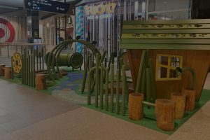 Key features include the delightful story telling cubby which caters for those quite moments, timber balancing logs, crawl tunnel and the imaginative winding river and interactive talk tubes. Not forgetting the flexible forest and interactive play panels
