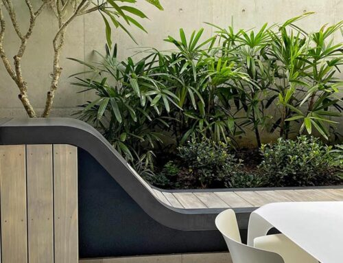 Inner City Tranquility featured in Australian House & Garden