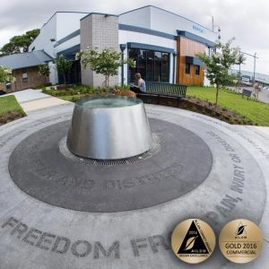 commercial design, landscape awards, OUTHOUSE design, landscape architecture, pet friendly landscape