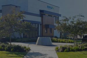 RSPCA main entrance water feature at Yagoona