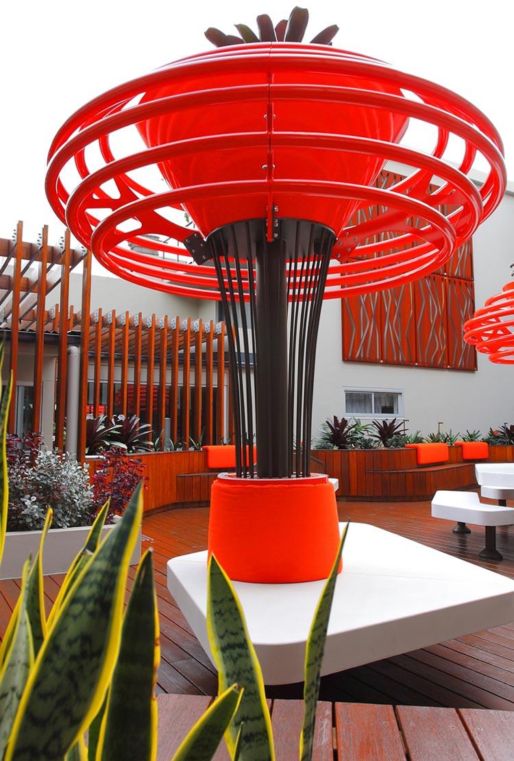 open space, courtyard design, hotel design, garden plants, hotel plants, inner courtyard ideas, commercial landscape