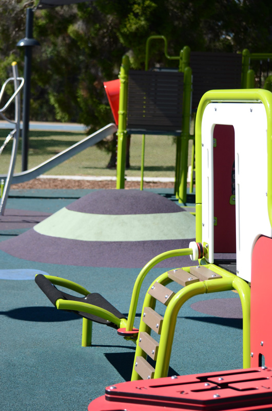 Play equipment for children to climb, balance and explore