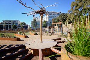 Community garden play space design