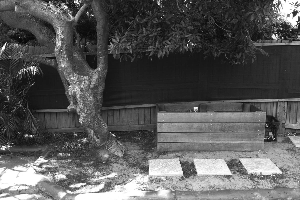 Before image of Leichhardt Childcare back garden playspace