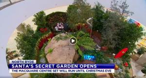 Channel 7 Santa Secret Garden