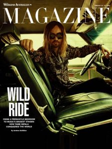 Weekend Australian Magazine Cover