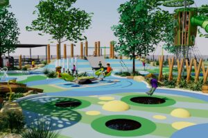 Veer off the river and leap like a frog onto the all inclusive trampolines in the swamp lands