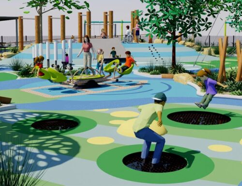 Variety Inclusive Playground – In Progress